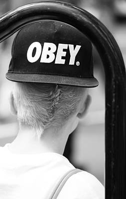 Obey Photograph - Obey  by Empty Wall