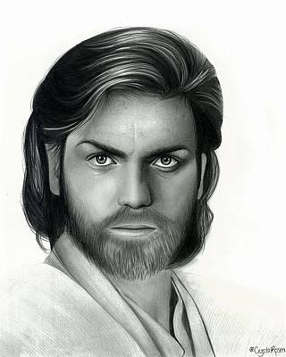 Obi Wan Kenobi Art Print