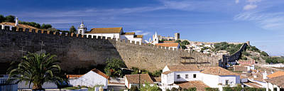 Town Of Color Photograph - Obidos Portugal by Panoramic Images