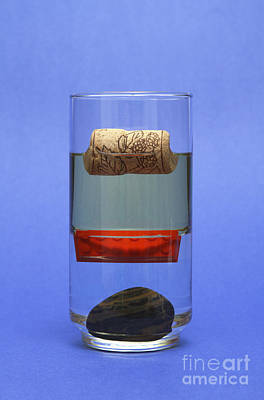 Objects And Liquids Of Different Art Print
