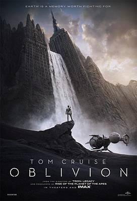 Oblivion Tom Cruise B Art Print
