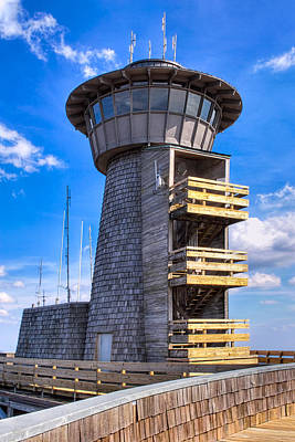 Photograph - Observation Deck At Brasstown Bald - Georgia by Mark E Tisdale