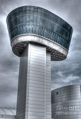 Art Print featuring the photograph Observation Tower by ELDavis Photography