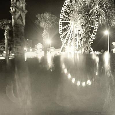 Film Photograph - Observation Wheel by Faith Photofactory