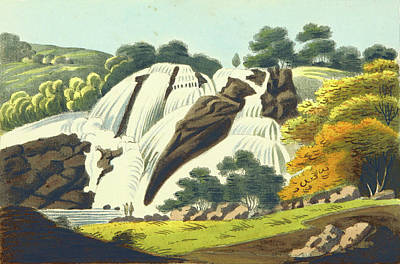 Observation Drawing - Observations On The Neilgherries, Falls Of The Cauvery by Litz Collection