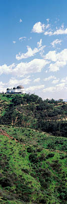 Observatory On A Hill, Griffith Park Art Print