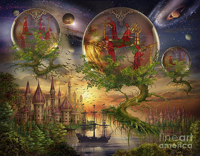 Astrology Digital Art - Observer Trees by Ciro Marchetti