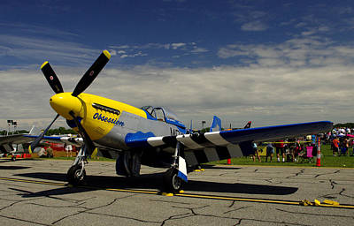Photograph - Obsession P 51d Mustang by James C Thomas