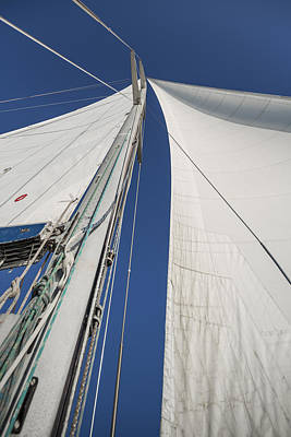 Mast Photograph - Obsession Sails 2 by Scott Campbell