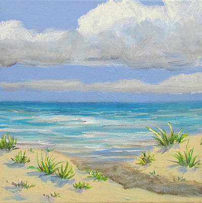 Obx Dune Art Print by Anne Marie Brown