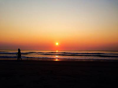 Photograph - Obx Sunrise 2014 by Chris Montcalmo