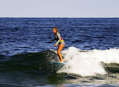Photograph - Obx Surfer Girl by Patricia Griffin Brett