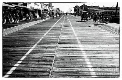 Photograph - Oc Boardwalk by John Rizzuto