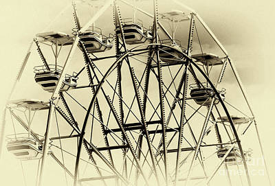 Ocean City Nj Photograph - Oc Ferris Wheel by John Rizzuto