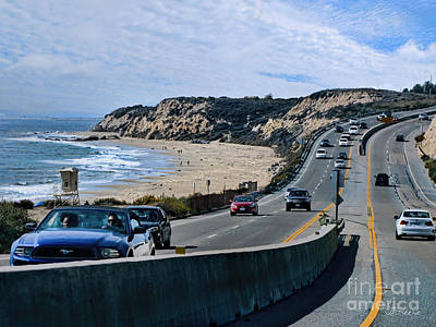Oc On Pch In Ca Art Print