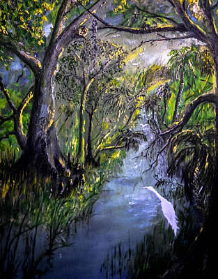 Painting - Ocala Creek by Christy Usilton
