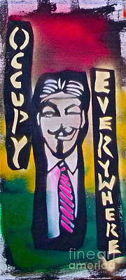 Occupy Painting - Occupy Rasta by Tony B Conscious