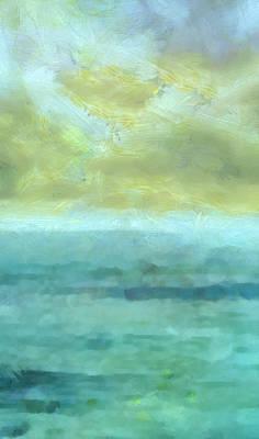 Beach Mixed Media - Ocean 10 by Angelina Tamez