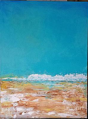 Painting - Ocean 2 by Diana Bursztein