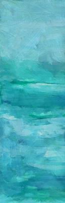 Abstract Seascape Mixed Media - Ocean 6 by Angelina Vick