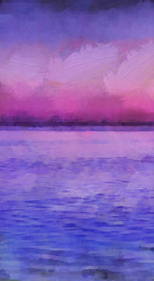 Beach Mixed Media - Ocean 8 by Angelina Tamez