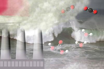 Ocean Acidification  Art Print