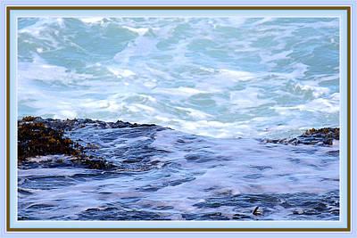 Ocean At Shore 2 Art Print by Marie Jamieson
