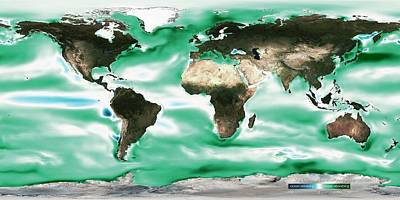 Future Photograph - Ocean-atmosphere Co2 Exchange by Noaa
