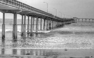 Photograph - Ocean Beach Pier by Bill Hamilton