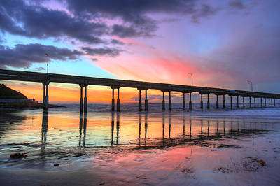 Photograph - Ocean Beach Sunset by Nathan Rupert