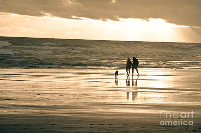 Ocean Beach Walk Art Print