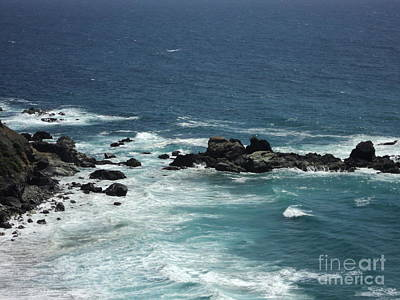Art Print featuring the photograph Ocean Blue by Carla Carson