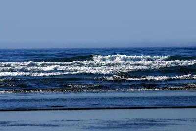 Photograph - Ocean Blue by CE Haynes