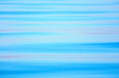Photograph - Blue Ocean Abstract by Roxy Hurtubise