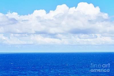 Photograph - Ocean Blue Sky Blue by Audreen Gieger