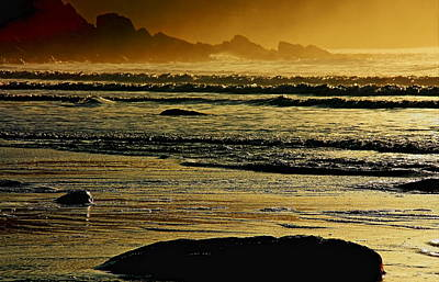 Irish Seascape Photograph - Ocean Breeze - Co Kerry - Ireland by Aidan Moran