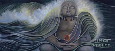 Ocean Buddha Art Print
