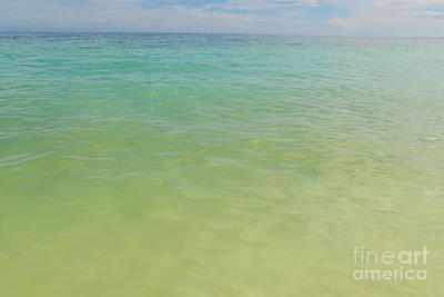 Photograph - Ocean Calmness I by Ruth Burke