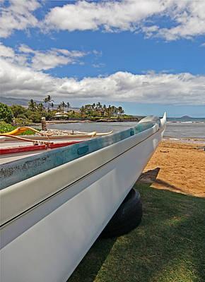 Photograph - Ocean Canoe by John Orsbun