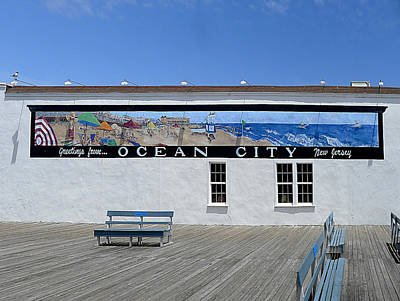 Photograph - Ocean City - Greetings by Richard Reeve