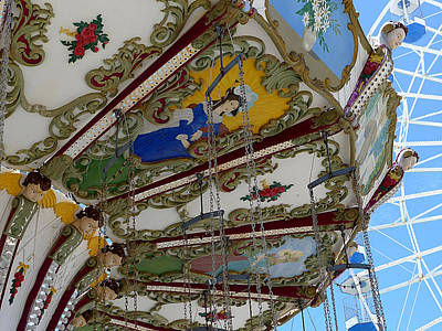 Photograph - Ocean City - Carousel Art by Richard Reeve