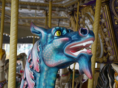 Photograph - Ocean City - Here Be Dragons by Richard Reeve