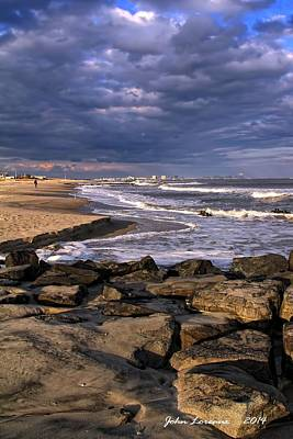 Ocean City Jetty Art Print
