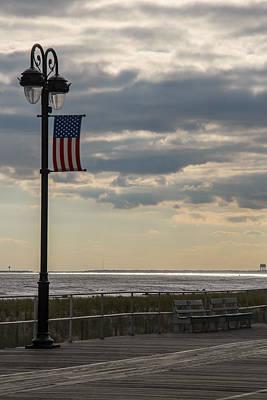Ocean City New Jersey Boardwalk Art Print