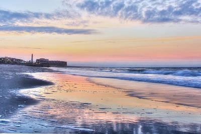 Ocean City Nj Photograph - Ocean City Sunrise by Lori Deiter