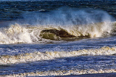 Photograph - Ocean City Surf's Up by Bill Swartwout Fine Art Photography
