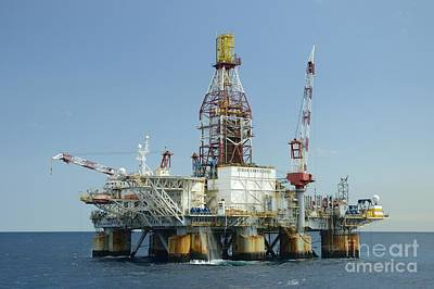 Photograph - Ocean Confidence Drilling Platform by Bradford Martin