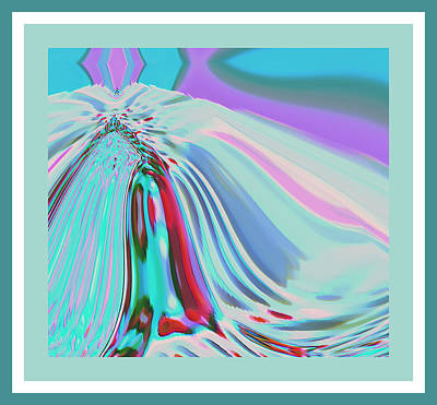 Ocean Deco - Ticker Symbol Jamn 7/5/2011 To 8/1/2011 Art Print