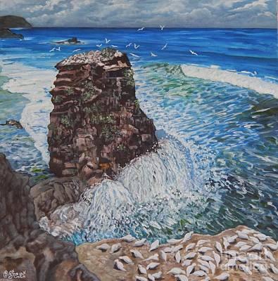 Ocean Dream Print by Caroline Street