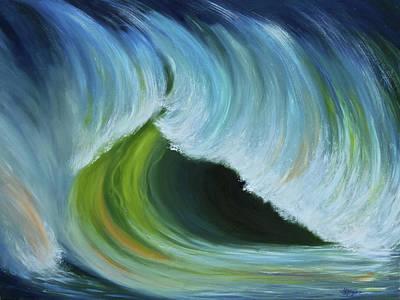 Ocean Emotion #2 Art Print